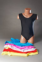 Купальник для гимнастики и танцев без юбки на возраст 2-12 лет