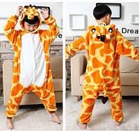 Пижама кигуруми kigurumi костюм жираф детская