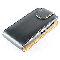 Чехол-книжка для Nokia Asha 300, Chic Case, Черный /flip case/флип кейс /нокиа