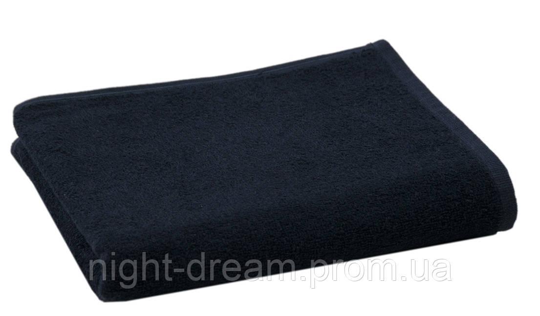 Полотенце для сауны 100х200 из кашемира от Hamam QASHMARE синее