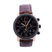 Часы мужские Montblanc Time Walker Black Brown
