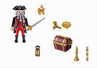Конструктор Playmobil Пират и сундук 4783