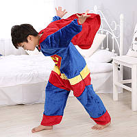 Пижама кигуруми kigurumi костюм супермен детская