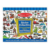 Набор для творчества Melissa&Doug Голубые стикеры , 500 шт. (MD4246)
