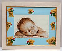 Вышитая картина Младенец