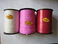 """Лента тонкая""""Флора""""0,5мм  (код 01756)белая,красная,розовая"""