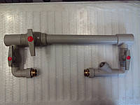 Бойпас для отопления D40 c краном для PPR