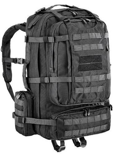 Вместительный штурмовой рюкзак 65 л. Defcon 5 Eagle 65, 922256 черный
