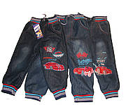 РАСПРОДАЖА .Тёплые джинсы, утеплённые махрой для мальчиков от 1 до 2,5 лет. Турция