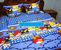 Комплект постельного белья для детей   ''Энгри Бердс'', бязь