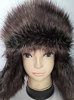 Шапка ушанка мужская  зима.