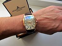 Мужские кварцевые часы Franck Muller коричневые