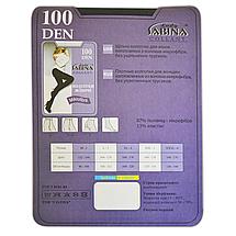 Колготки Lady Sabina 100 den microfibra Tabaco р.3 (Арт. LS100MF), фото 3
