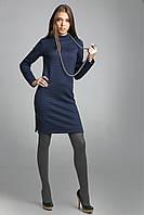 Лаконичное и элегантное платье из плотного и структурного трикотажа, фото 1