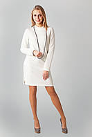 Стильное женское платье из структурного трикотажа, фото 1