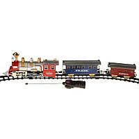 Детская железная дорога на радиоуправлении светом и звуком Na-Na Classical Express IM244