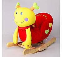 Детское кресло-качалка Na-Na Улитка с музыкой IS2