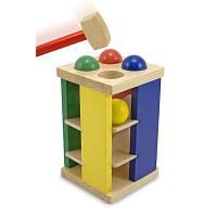 Развивающая игрушка Melissa&Doug Стучалка Забей шарик (MD3559)