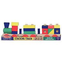 Развивающая игрушка Melissa&Doug Поезд из кубиков (MD572)