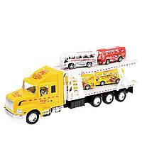 Игрушечный грузовик Na-Na с платформой для автобусов IM75A
