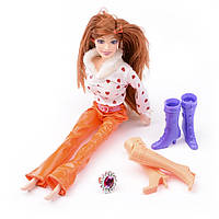 Игровой набор Na-Na Кукла с обувью и аксессуарами Beauty girl ID37B