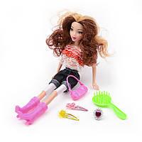 Игровой набор Na-Na Кукла с колечком и заколками для девочек Vogue Honey ID32C1