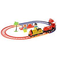Железнодорожный игровой набор со станцией Na-Na Супер Томас со светом и звуком IE274