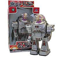 Детский интерактивный робот со светом и звуком Na-Na Железный солдат IF13