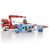 Игрушечный эвакуатор для грузовых машин Na-Na со звуком и светом IM311