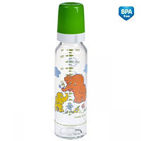 Бутылка стеклянная 240 мл с рисунком Canpol Babies (42/201)