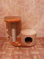 Домик для кошек с лапками