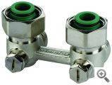 Комплект подключения радиаторов отопления Rossweiner Пакет №4 Exclusive угловой
