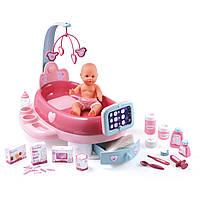 Игровой центр Smoby Baby Nurse для ухода за куклой, с пупсом 32 см лекарствами и аксессуарами 24223