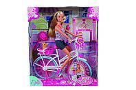 Кукольный набор Штеффи с малышом на велосипеде Steffi Love (573 9050)