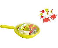 Детский набор игрушечной посудки в сковородке Ecoiffier (000973)