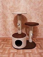 Домики для котов с когтедралкой