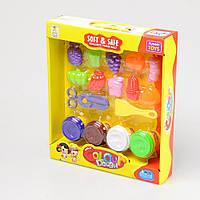 Детский набор для лепки с формочками (Фрукты и овощи) IE530