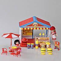 Детский игровой набор магазин (Бургеры) со светом и звуком IM367