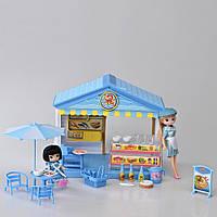 Детский игровой набор магазин (Морепродукты) со светом и звуком IM374