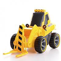 Модель трактора на радиоуправлении с снегоочистителем IM215
