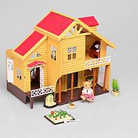 Игровой набор домик с аксессуарами и фигурками (Счастливая семья) IF254