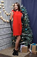 """Нарядное женское платье """"Ангелина 2"""" red"""