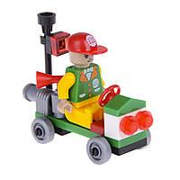 Детский конструктор (Город) автомобиль спасателя IM63A
