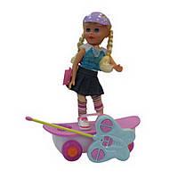 Танцующая кукла на скутере (со светом и звуком) ID1
