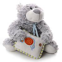 Мягкая игрушка плюшевый мишка с подушкой  13 см IF70