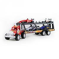 Игрушечный грузовой автомобиль с машинками IM97A