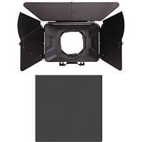"Компендиум Tilta 4 x 4"" Carbon Fiber Matte Box with ND Filter Kit"