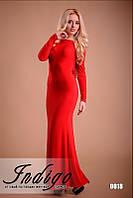 """Платье женское вечернее в пол с открытой спиной """"Эмануэль"""""""