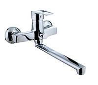 LIDICE смеситель для ванны с длинным изливом, хром, IMPRESE 35095,кран для ванны с поворотным гусаком+ПОДАРОК
