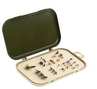 Коробка с мягким вкладышем 2100 (для мушек, микроблесен,микроджигов и мормышек)